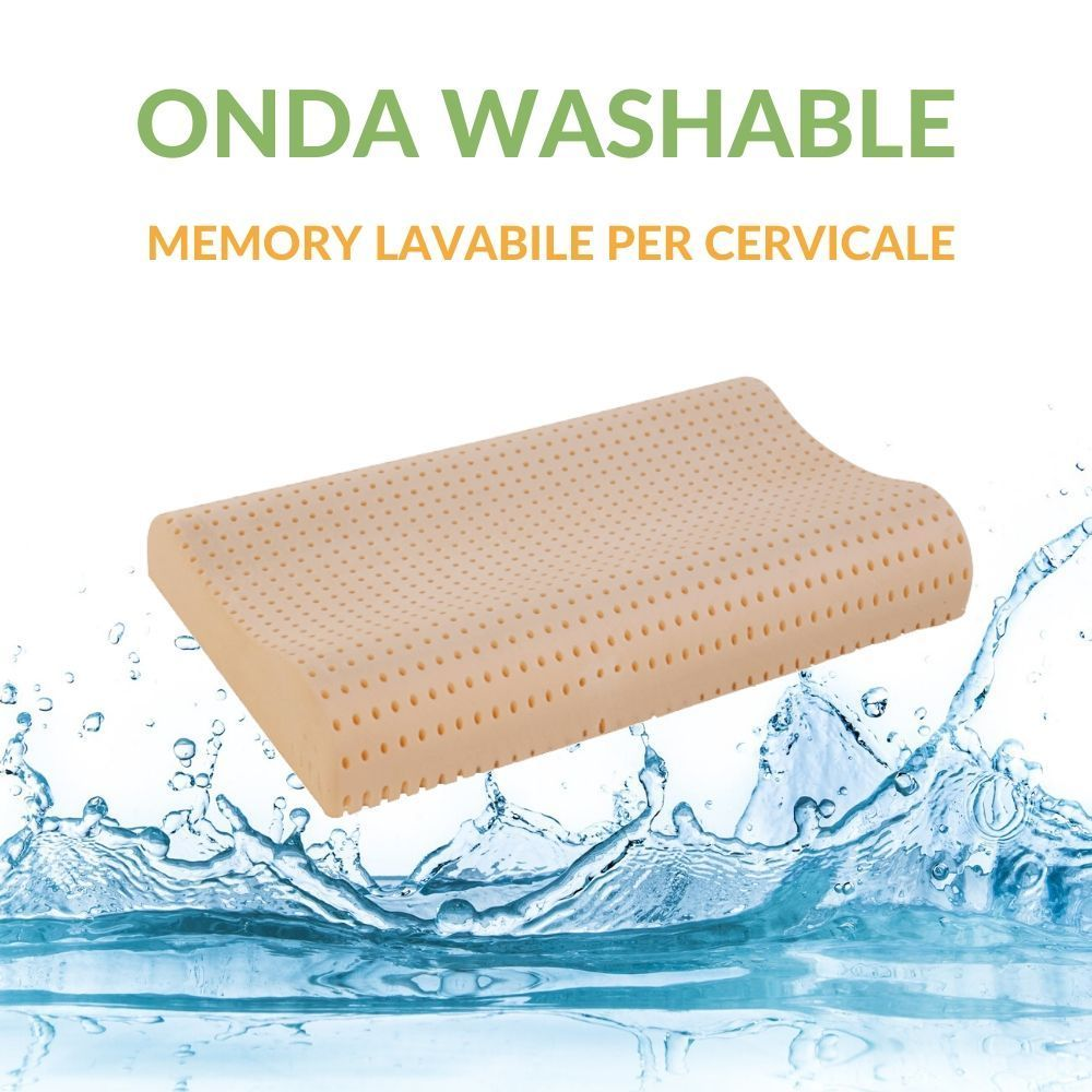 Cuscino memory cervicale Washable